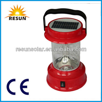 new disign portable solar camping light for home use with high quality and low price