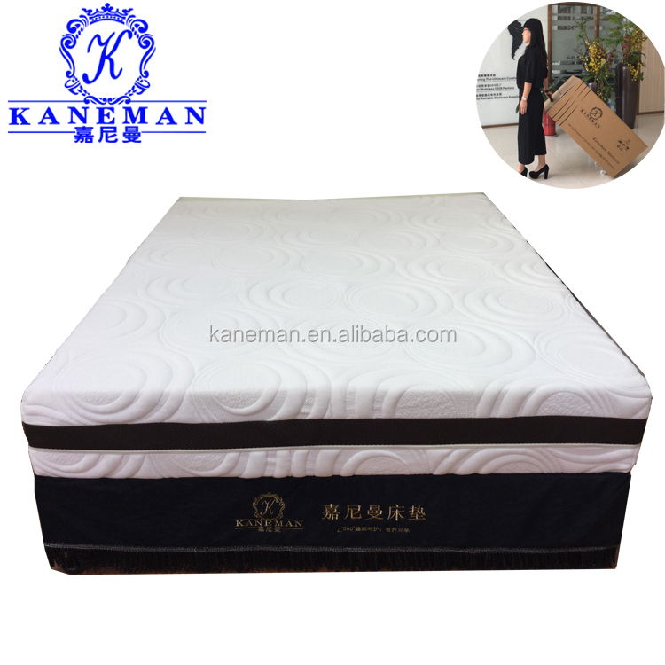 Sweet dream bedroom king size cool gel bed mattress with SGS