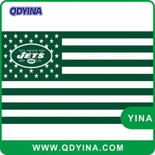 New York Jets flag 3ft x 5ft 100D polyester banner digital print double stitching with metal grommets 90x150cm