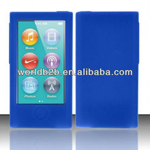 Silicone Skin Case cover for Apple iPod nano 7th keyboard is Protected