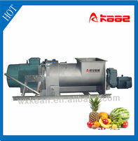 Fruit and vegetable gear type of crusher