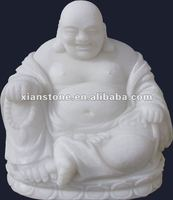 White laughing buddha statue for sale