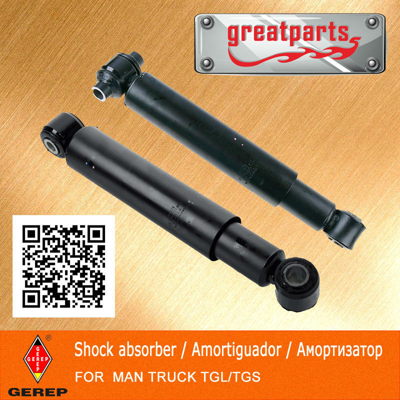 High quality truck oil shock absorber for MAN TGS 81.43701.6934