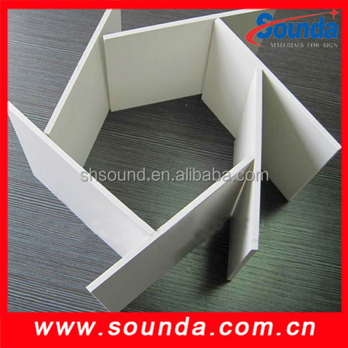 1220*2440mm pvc free form board for advertising