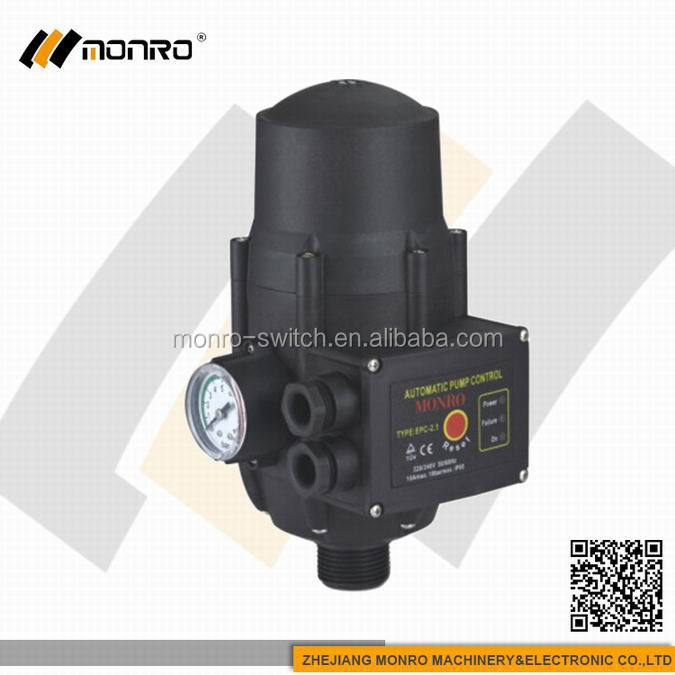 0003 EPC-2 Zhejiang Monro manufactory pressure switch 24v 1.5bar pump control water pump electronic pressure switch