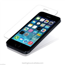 ultra thin 9H 2.5D scratch proof water proof dent proof durable tempered glass screen protector for iphone 5s 5c