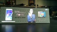 custom flashing slim light box LED advertisement