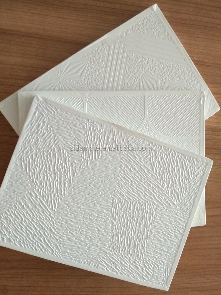 Foil Back Gypsum Board : Pvc faced gypsum ceiling board plasterboard