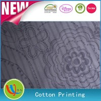 2014 calendar 100%C cotton printing fabric for high quality garments for ladies