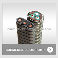 Three cores EPR insulated lead sheathed,armoured cable for submersible oil pump ESP power cable