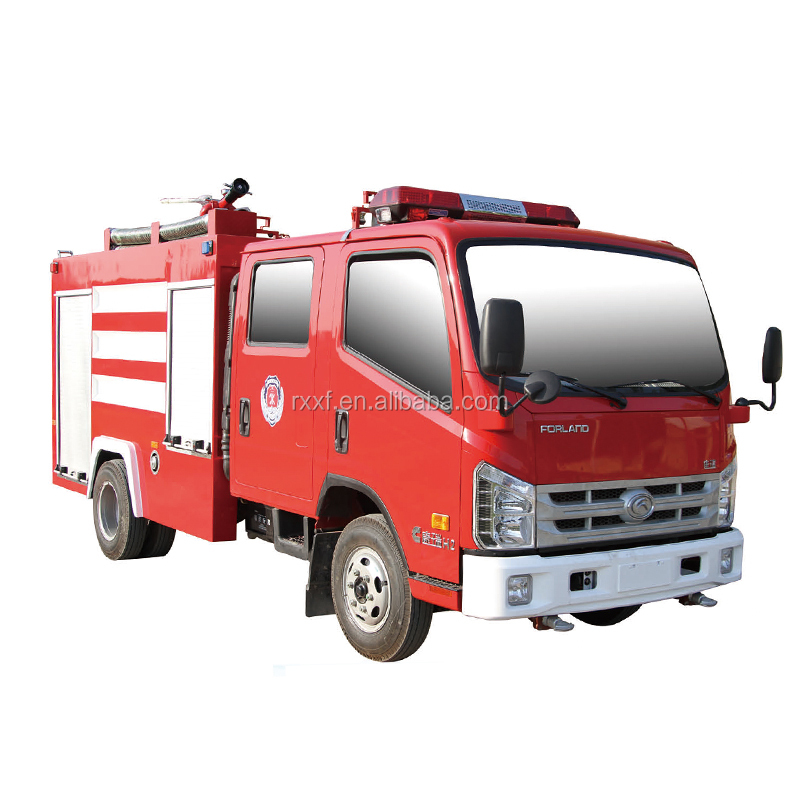 China hot sale new 3.5tons multi-function water and foam emergency fire engine truck for sale