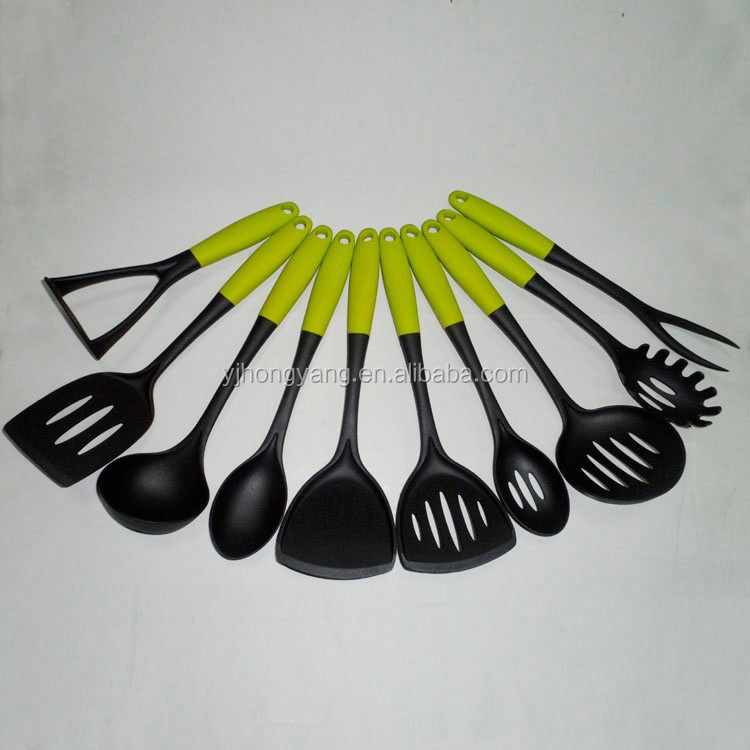 Nylon kitchen utensils list for cooking tools and utensil