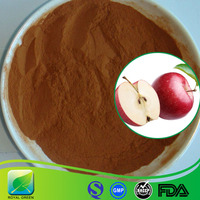 Phloretin Phlorizin Apple polyphenol Dried Red Apple Peel Extract