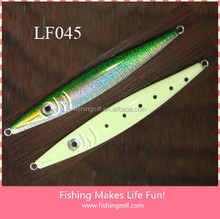 LF045 300g top quality speed perfect reflection sword whole body glow lead jig