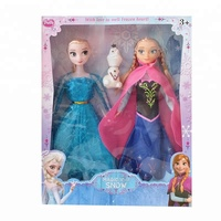 Frozen princess doll toys fantasy suit little girl birthday present