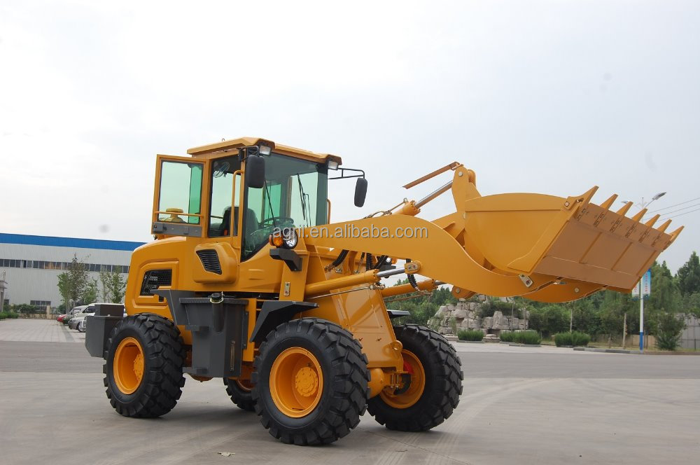 hot sale new design hydraulic 2 ton wheel loader ZL20F with Cummin s engine air conditioner