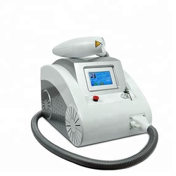 Laser beauty equipment portable q switched nd yag laser tattoo removal machine