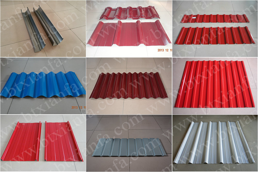Color Steel Sheet Circular Downspout Roll Forming Machine