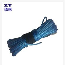 Mooring rope made of uhmwpe fiber rope