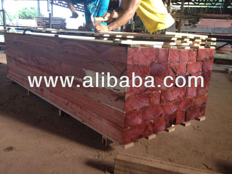 Merbau / Red Meranti sawn timber and myanmar timber logs