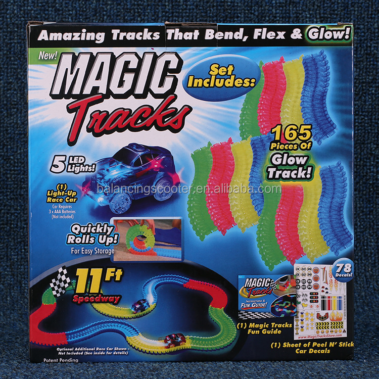 Amazing tracks slot toy magic track car