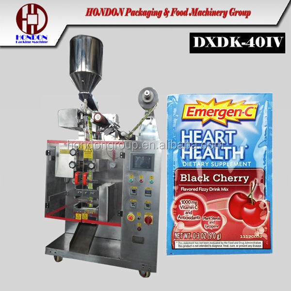 high speed cane sugar sachet packing machine