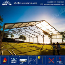 21016 Shelter Structures PVC coated roof metal frame permanent party tent, portable canopy tent