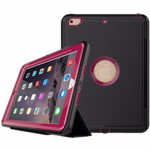 Factory Latest Fashion Design Smart Leather Cover Case For New iPad 9.7 (2017)
