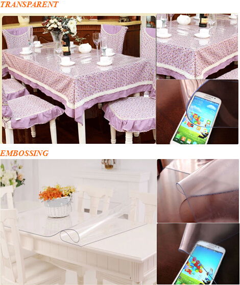 Laminated lamination crystal pvc table cloth film laminacao laminado cristal pvc tabela pano