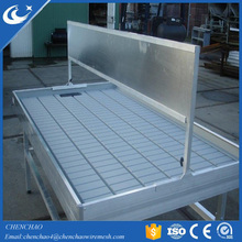Hydroponic 4X 8 flood and drain system Rolling Bench