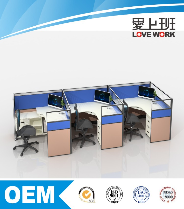 office wall partitions modular office partition FP-40+60-3L