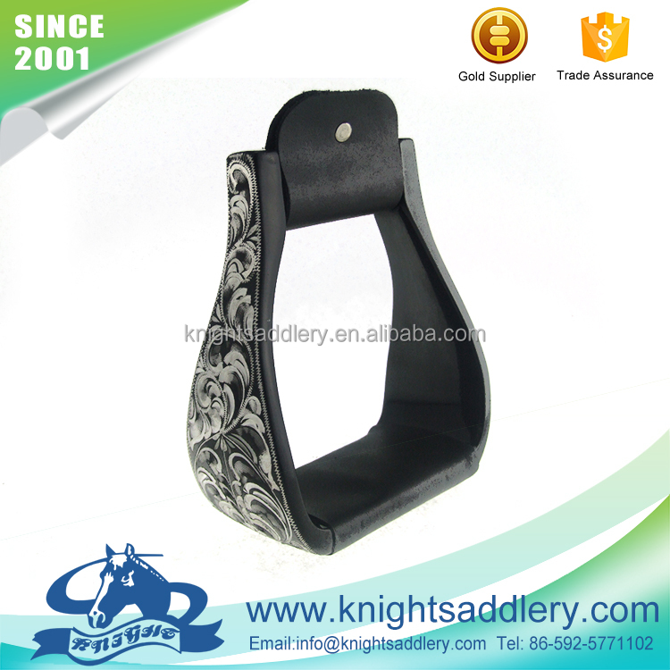 High Quality Western Horse Safety Stirrups with Polishing Handcraft