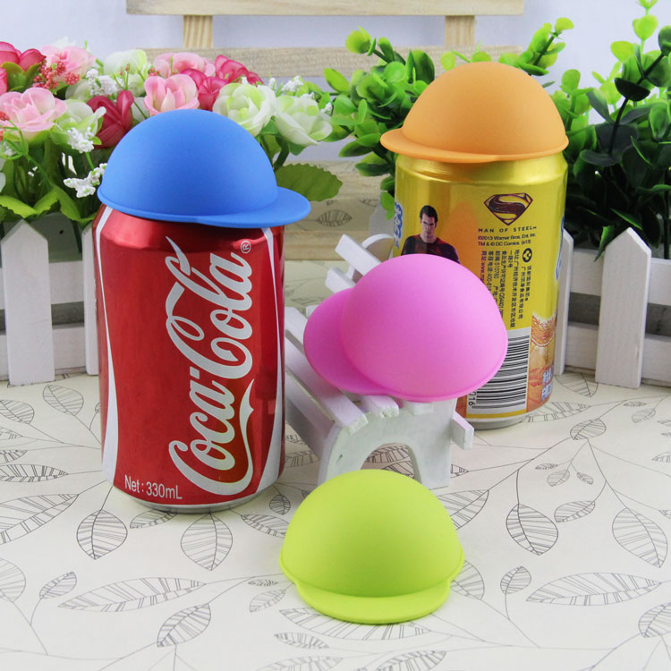 Fashionable Silicone Drink Can Cooler Covers for Beer Bottle/ Coke