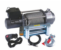 JW motor 12 v 6hp Wireless remote control 15000 lb Truck Electric Winch