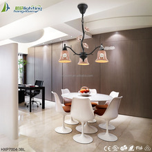 Ceiling and pendant lighting ceramic light bangladesh chandelier in sale HXP7004-3BL