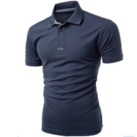 Factory Price Cotton Quick Dry Men's Sport Polo T-Shirt Bulk Buy Clothing