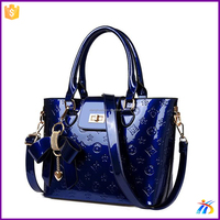 XH19552 lady fashion designer colorful handbag oem women's hand bag high quality wholesale