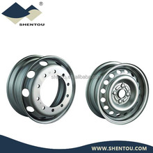 24.5x8.25 aluminum steel truck wheel alloy rims for Volvo DAF Renault