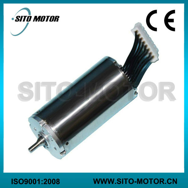 Brushless coreless motor