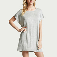 all types of ladies dresses short dolman sleeve scoop neckline casual cheap t shirt dress