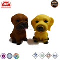Custom Make Crazy Plastic Dog Shape Toys
