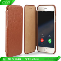Business man style gorgeous leather case for iPhone 6s mobile shell