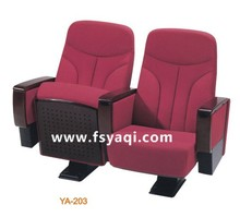 modern Tip-up folding seats 3d movie theater cinema hall chair YA-203