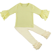 Newborn Baby Clothes long Sleeve Girl Clothing Suppliers For Boutiques