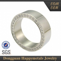Hot Selling Direct Factory Price Sgs Pakistani Men Wedding Ring