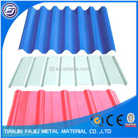 corrugated metal roofing sheet
