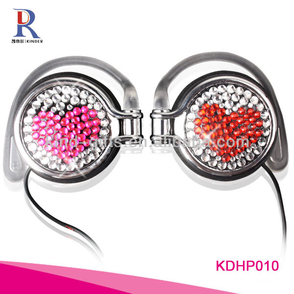 Very Nice Bling Crystal Children Headphone|stereo headphones|custom headphones