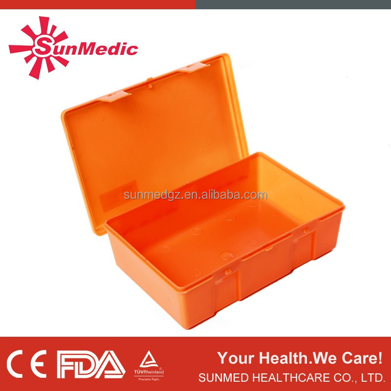 Factory office mining MINI plastic first aid kit box