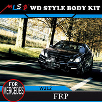 made in china High performance WD style body kit FRP for Mercedes benz E class W212