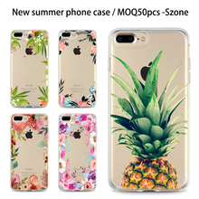 Szone Phone Case UV New Soft Mobile Cover For iphone 7 Cearl Cellphone Case for samsung s8 plus